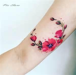 tatuajes de flores que pensabas que eran imposibles