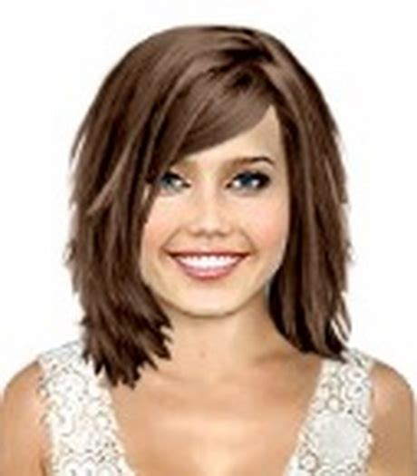 feathered neck lenth hairstyles with curly hair length hairstyles for oval face styles layered bang