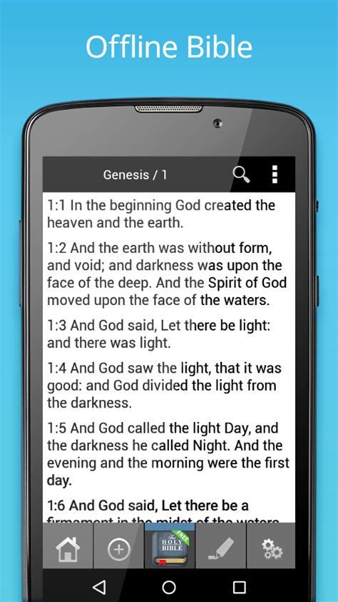 free bible apps for android phones king bible kjv free android apps on play