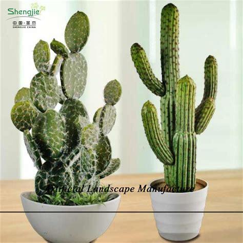 sjzjn  real   touch artificial cactus