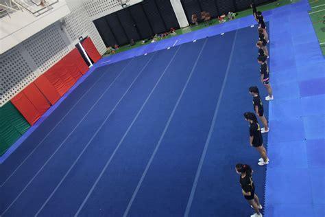Cheerleading Floor Mats by Dion Eng Cheerleading School Singapore Cheerleading