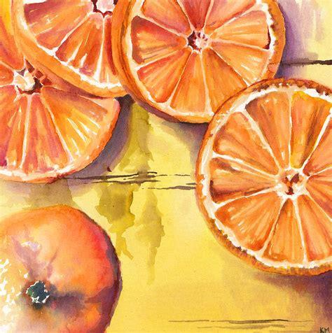 orange slice by kristen moreau