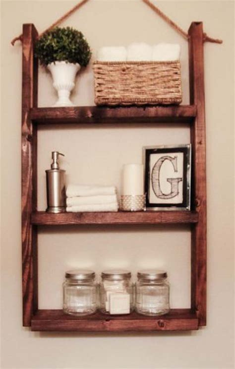 wooden bathroom shelves helpful tips for bathroom shelves