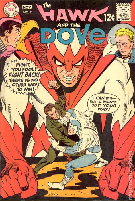 hawk and dove comic books hawk and dove 1968 1st series comic books