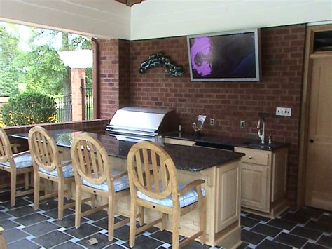 Kitchen Cabinet Stain Ideas creating special moment at outdoor kitchen ideas