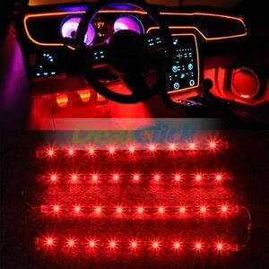 led light strips for car interior car interior led light strips ebay