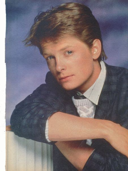 michael j fox autobiography was the young version of michael j fox cute michael j