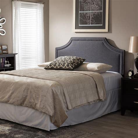 gray king headboard baxton studio avignon gray king headboard 28862 6870 hd