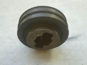 96 98 acura tl 2 5l crankshaft pulley harmonic balancer