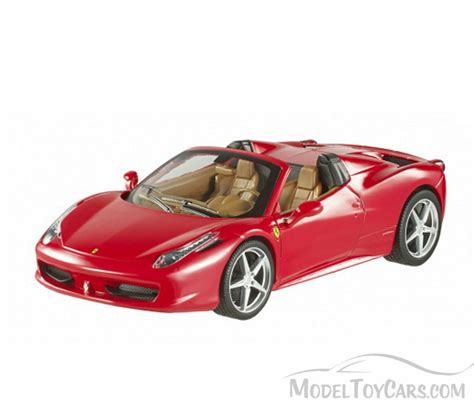 toy ferrari model cars ferrari 458 spider convertible red mattel wheels
