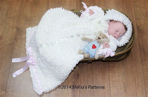 free crochet pattern baby bag baby sleeping bag crochet pattern 134 crochet pattern by