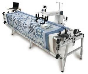 crown arm quilting machine