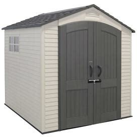 Lifetime Sheds Lowes by Shop Lifetime Products Gable Storage Shed Common 7 Ft X