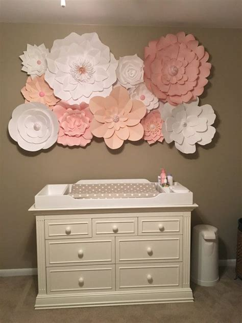 How To Make Paper Flower Wall Decorations - 1000 ideas about flower wall decor on paper