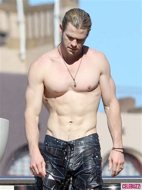Beckham Thinks Arms Are Flabby by Joe Manganiello And Chris Hemsworth Hit The