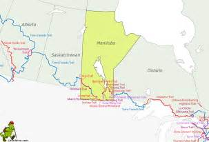 Map Of Manitoba Canada by Manitoba