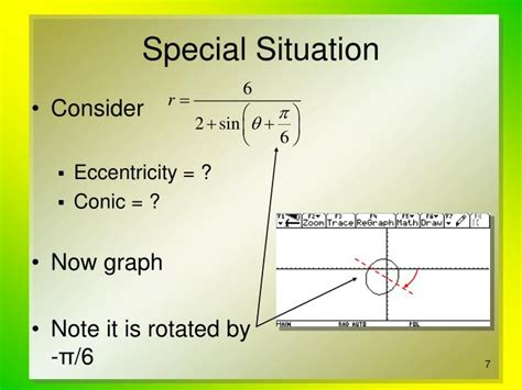 Conic Sections Polar Coordinates by Ppt Conic Sections In Polar Coordinates Powerpoint