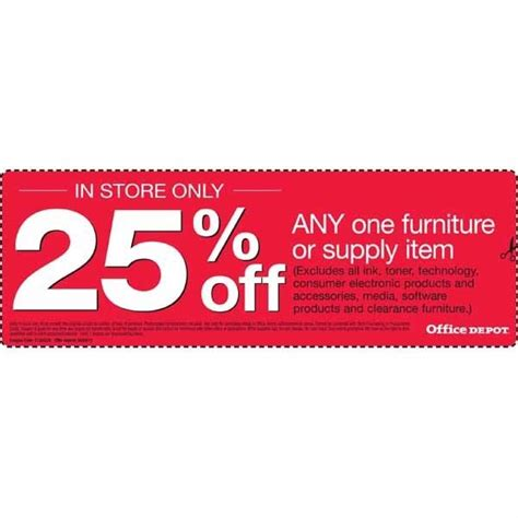 office depot furniture coupon office depot coupons 20 w promo codes printable