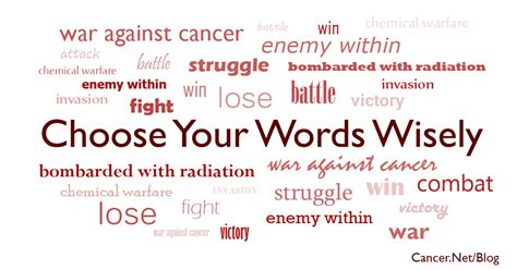 words that describe a cancer about your health