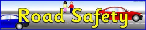 printable road safety banner road safety display banner sb5163 sparklebox road