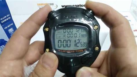 Casio Hs 70w 7 casio kronometre hs 80tw 1df modeli kullan箟m箟 ayarlama