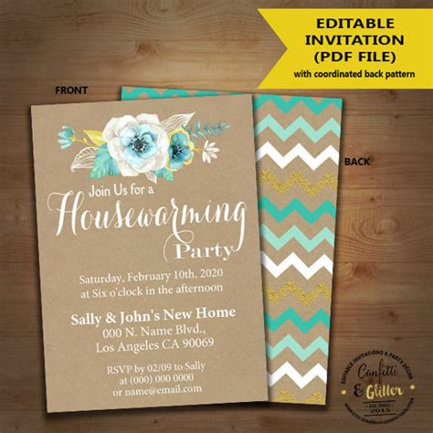 free housewarming invitation card template gruhapravesam invitation sles orderecigsjuice info