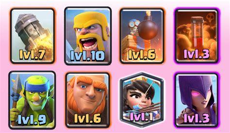 arena deck best clash royale deck arena 6 7 8 updated