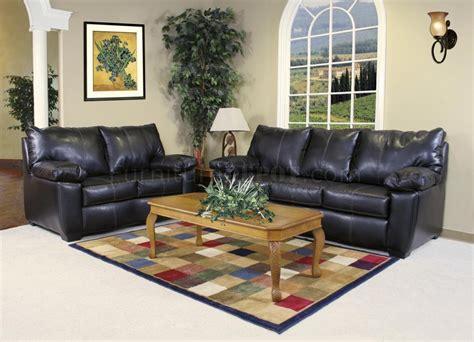 black fabric sofa sets black leather look fabric modern sofa loveseat set w options
