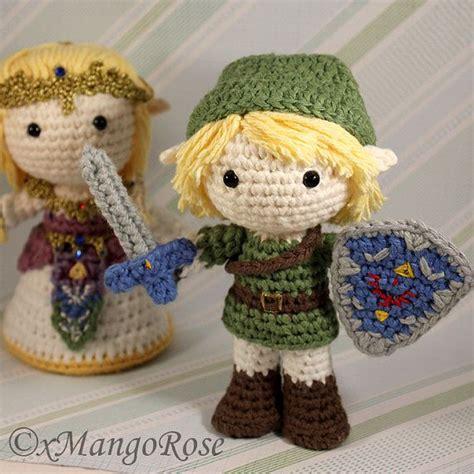 zelda plush pattern link amigurumi doll plush from legend of zelda crochet