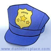 paper pattern of vigilance officer police officer hat pattern instructions community