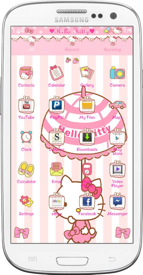 themes go launcher hello kitty pretty droid themes hello kitty car ride go launcher theme