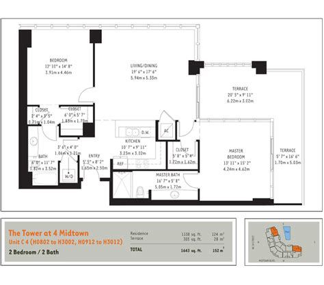 Midtown 4 Floor Plans | floorplans midtown miami residences