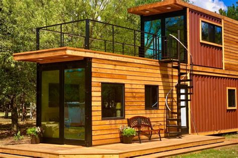 shipping container home   sweet roof terrace curbed