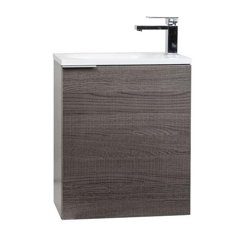 bathroom vanity wall mount buy 20 inch wall mounted bathroom vanity set rs l500 oak on conceptbaths com