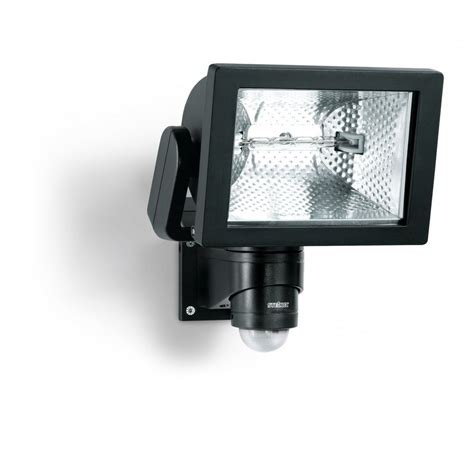 Outdoor Sensor Flood Lights Buy Steinel Hs500 Pir Sensor 500w Outdoor Security Flood Light In Black