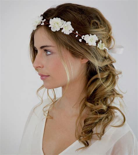Coiffure Pour Cheveux Mi by Coiffure Mariage Simple Cheveux Mi Longs
