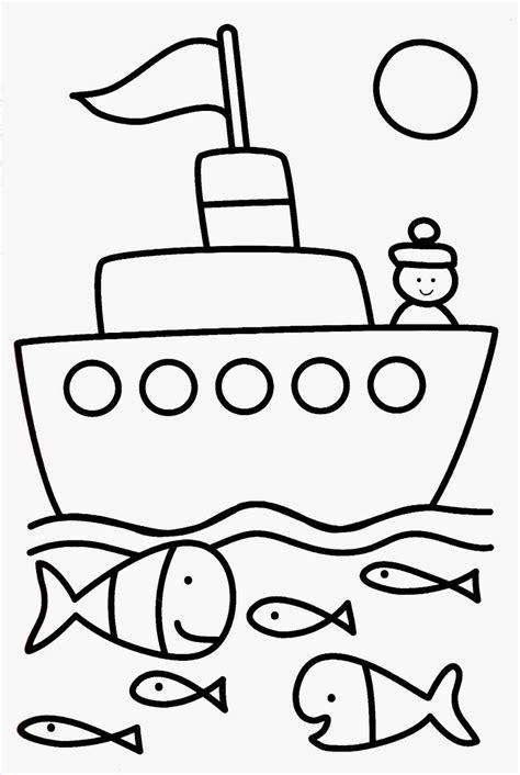 dessin de bateau facile a faire dessin facile bateau