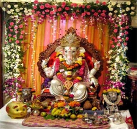 curtains decoration ideas for ganpati curtain