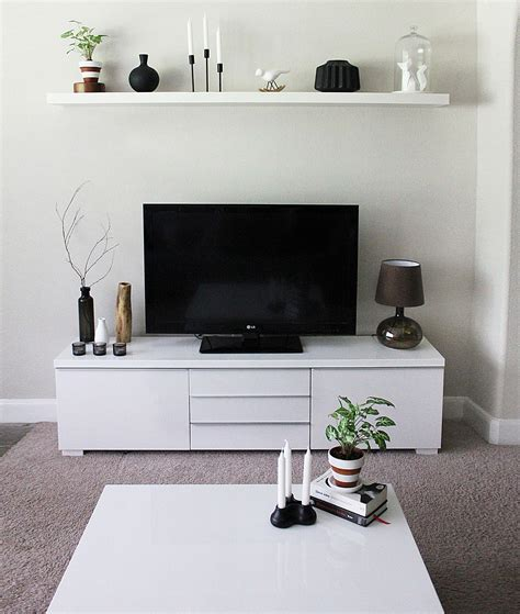 Living Room Tv Stand by Minimalist Tv Stand And Cabinet Ikea Besta Interiors