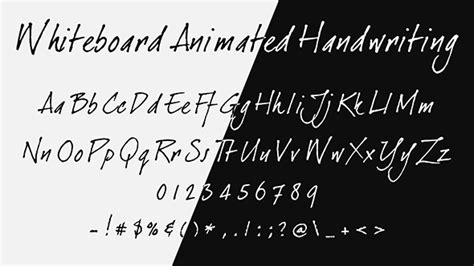 handwriting template after effects whiteboard animated handwriting cartoons envato