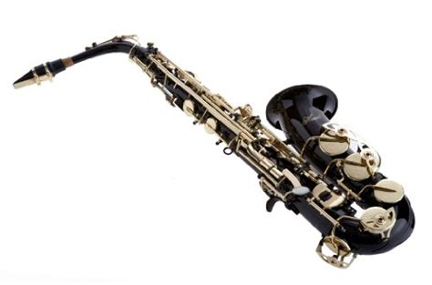 Black Hawk Leather Black Blue hawk wd s416 bk student alto saxophone with