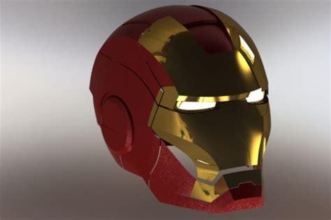 solidworks tutorial helmet iron man solidworks 3d cad model grabcad