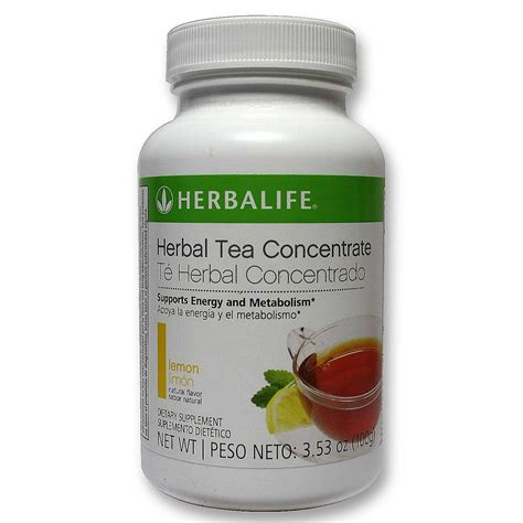 Herbalife Detox Tea by Herbalife Herbal Tea Concentrate Lemon 3 5 0z 100 G
