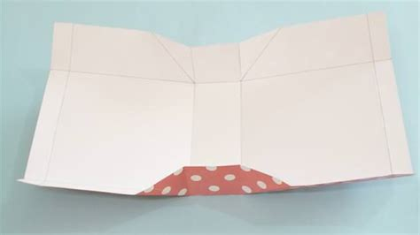 Folding Paper Bag - diy craft ideas how to make an easy diy paper gift bag