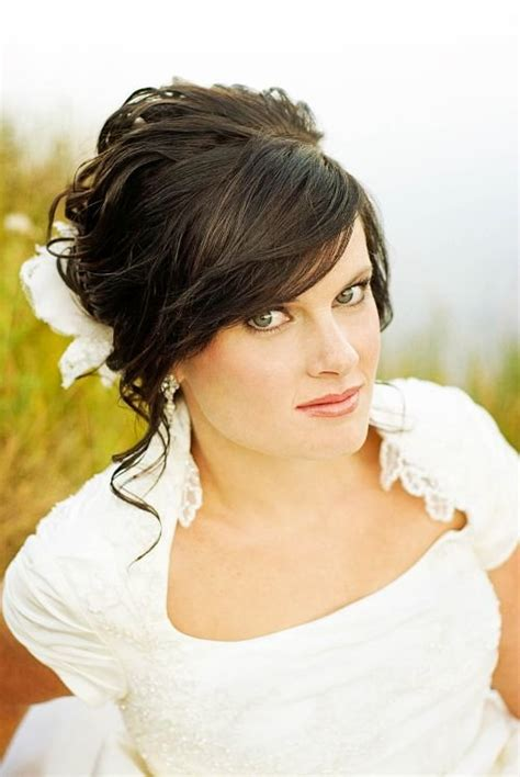 Wedding Hairstyles With Front Bangs by 73 Wedding Hairstyles For Medium Hair