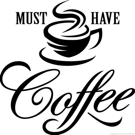 Boys Bathroom Ideas Wall Decals For The Kitchen Wall Decal Must Take Coffee