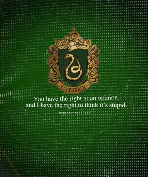 haus slytherin slytherin house quotes quotesgram