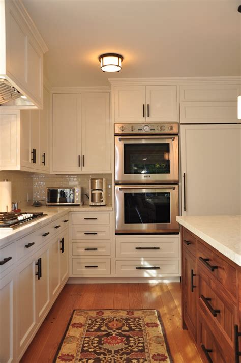 kitchen cabinet hardware placement Kitchen Contemporary with cabinet front refrigerator ceiling