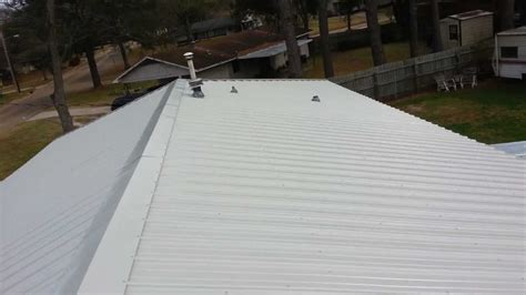 metal hip roof installation