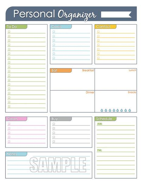 free printable office organizer pinterest the world s catalog of ideas